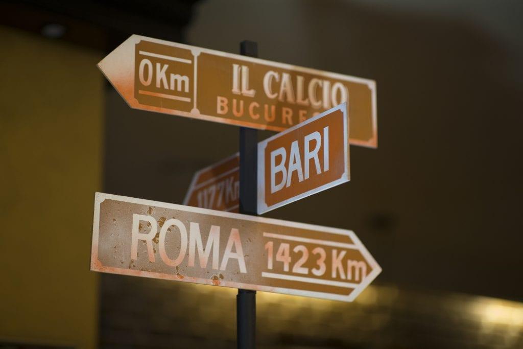 Restaurant Il Calcio Romancierilor
